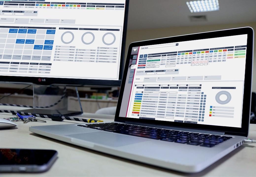 ViSU2000 ScreenBeispiel - Startups rund um den Bodensee