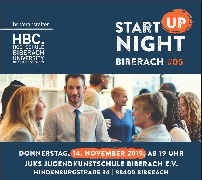 Startup Night Biberach - Events