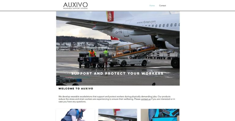 Auxivo – schützt und unterstützt bei Arbeiten mit schweren Lasten