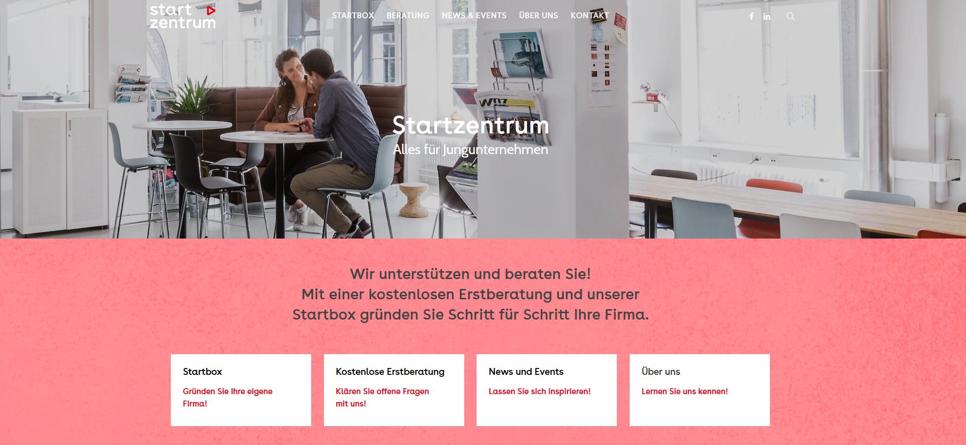 SZ Startseite - Startups rund um den Bodensee