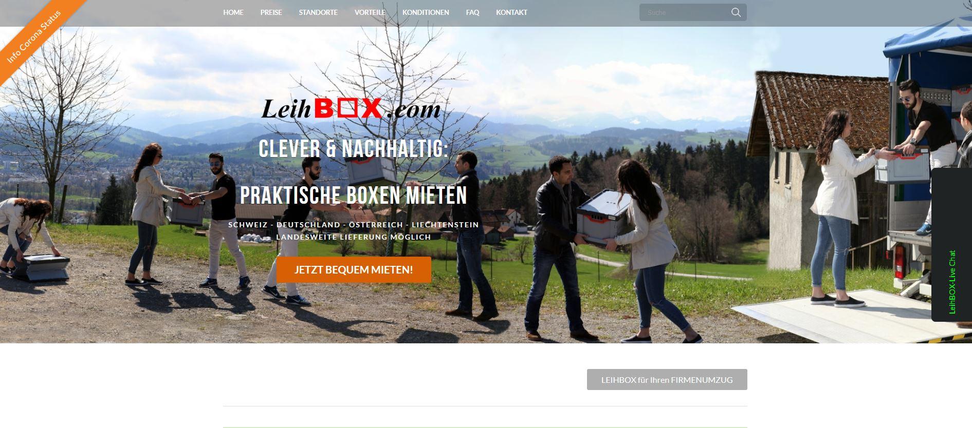 Leihbox - Startups rund um den Bodensee