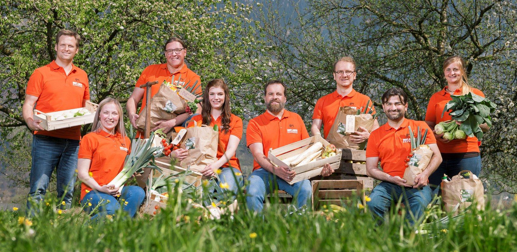 Team Hofladen Express - Startups rund um den Bodensee
