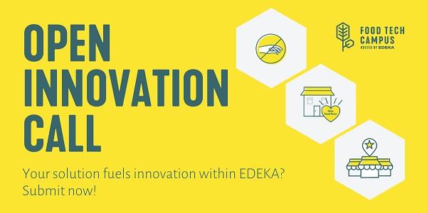 Edeka sucht: Startups, KMU´s oder etablierte Unternehmen mit Tech Fokus