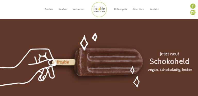 froobie – leckeres Eis ohne künstlichen Schnickschnack