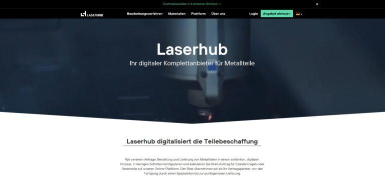 Genau jetzt Europas Industrie aufmischen – Acton Capital investiert in Bauteileplattform Laserhub