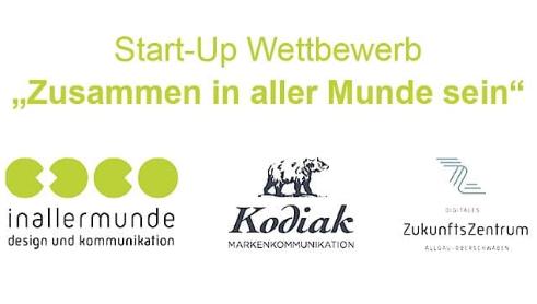 """Startup-Wettbewerb """"Zusammen in aller Munde sein"""" – Agenturleistungen für Startups werden im Wert von 25.000,00 € verlost"""