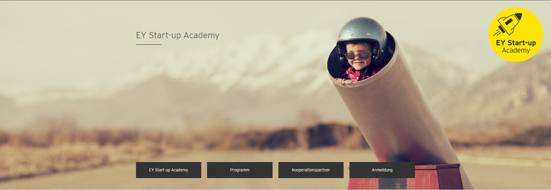 EY Startup Academy - Nur noch bis Ende Oktober 2020: Nominiert Eure Favoriten für die German Startup Awards 2021