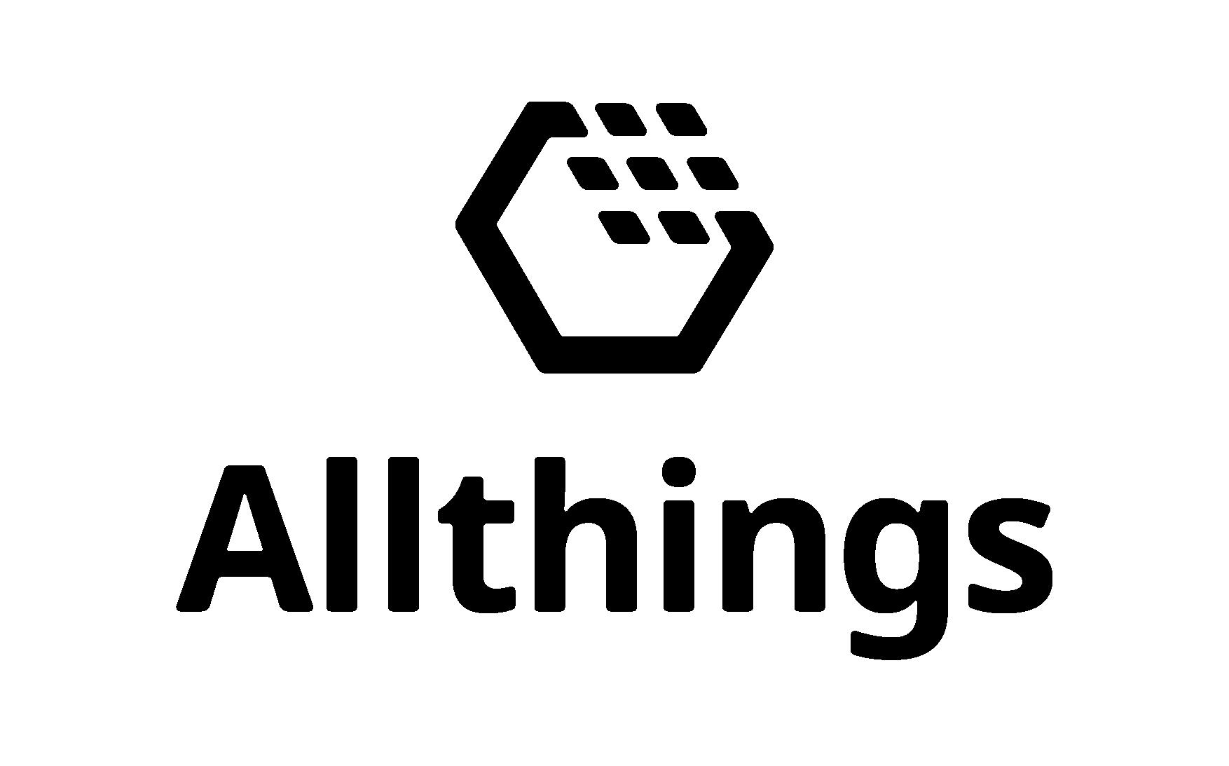 Logo Allthings schwarz - Jobs