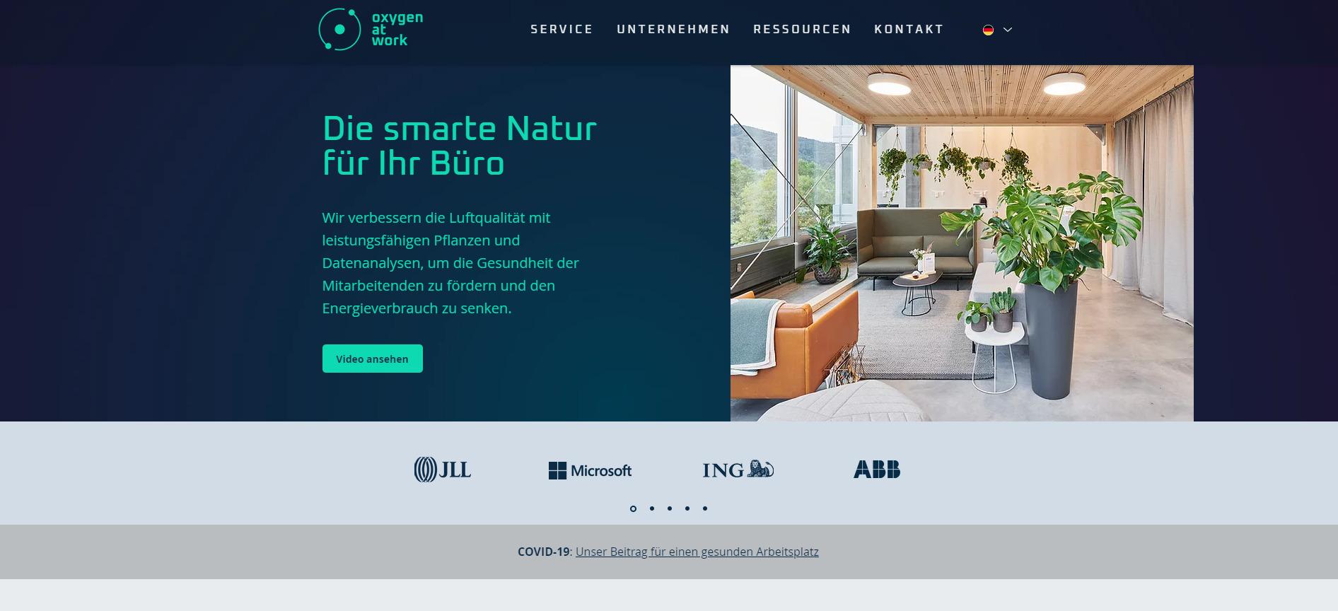 Oxygen - Startups rund um den Bodensee