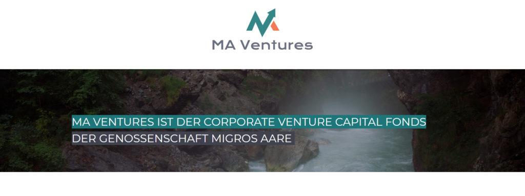 MA Ventures unterstützt Startups im Tätigkeitsbereich der Genossenschaft Migros Aare