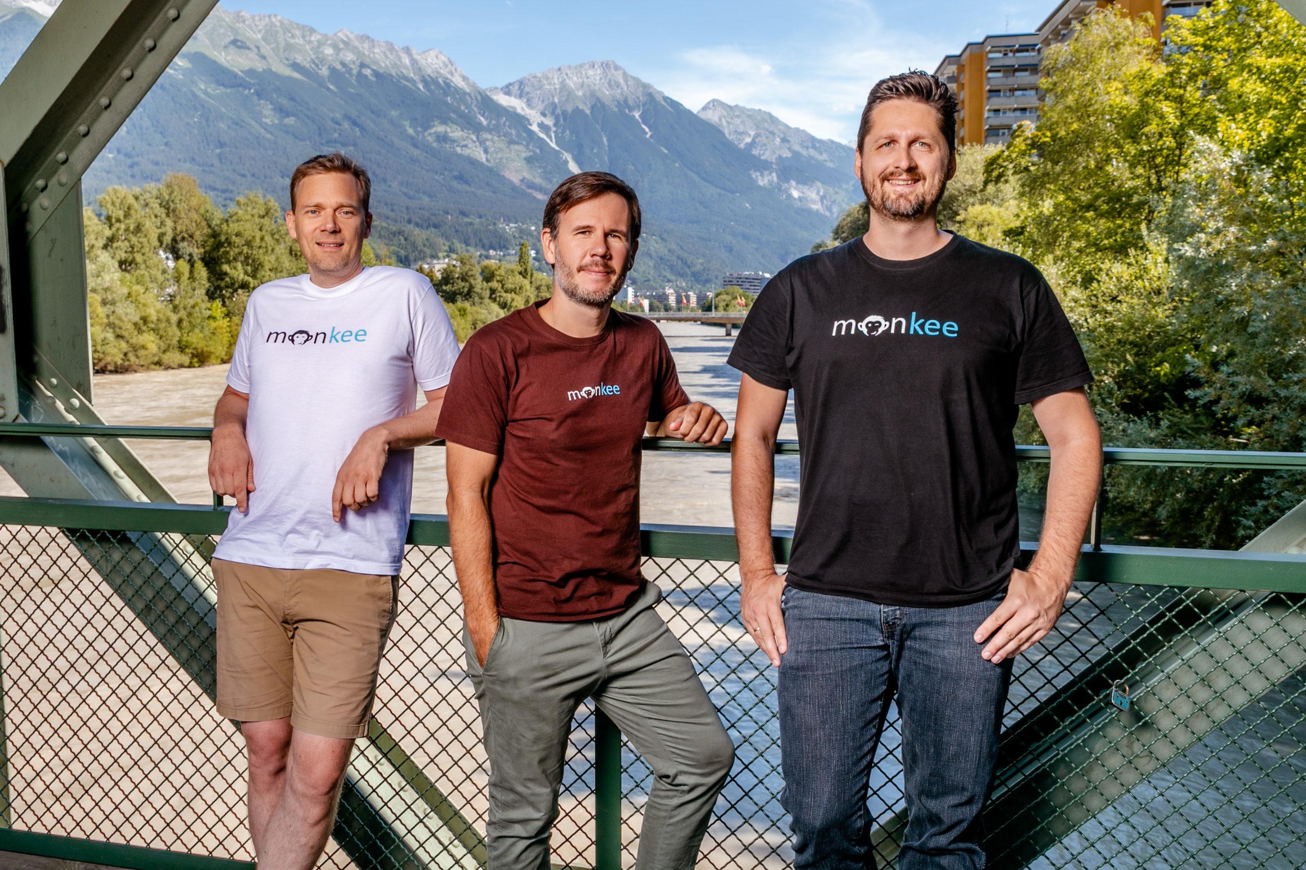 300dpi Monkee Gruenderteam Jean Yves Bitterlich Christian Schneider und Martin Granig C Monkee scaled - Startups rund um den Bodensee